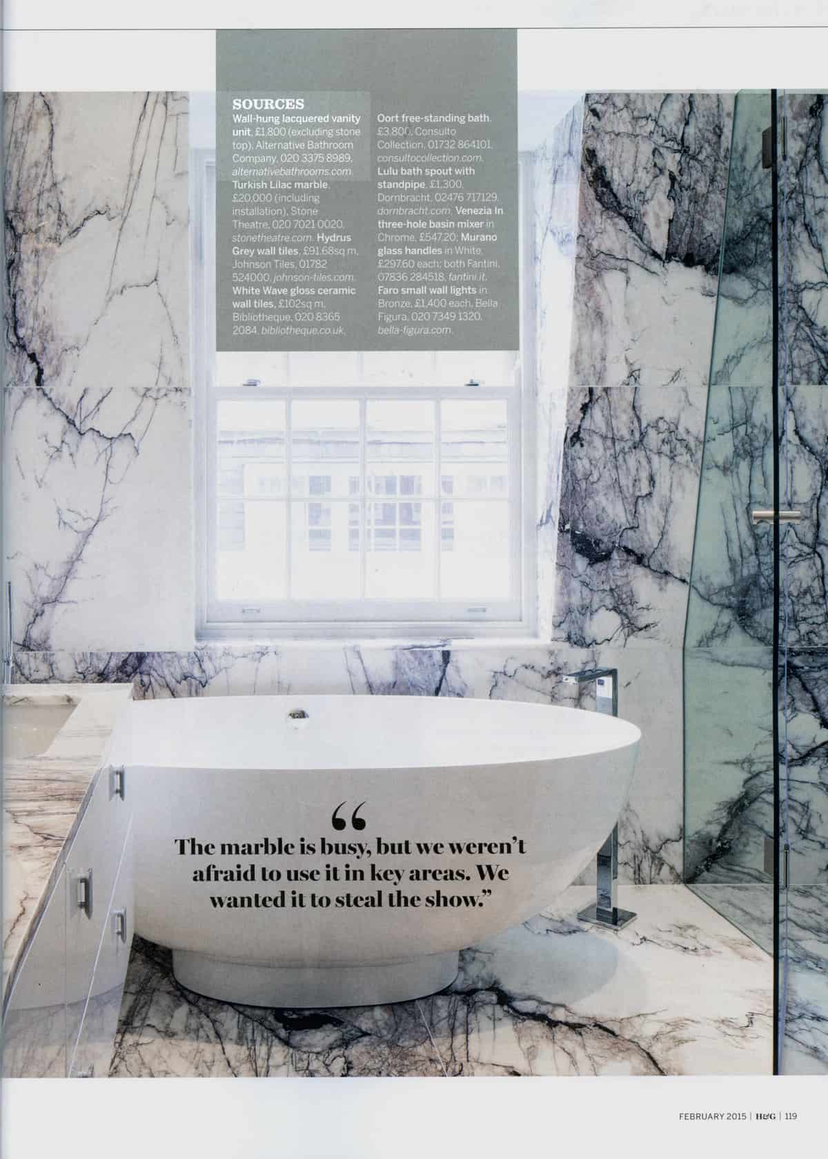 Homes & Gardens - Discover more with Alternative Bathrooms London