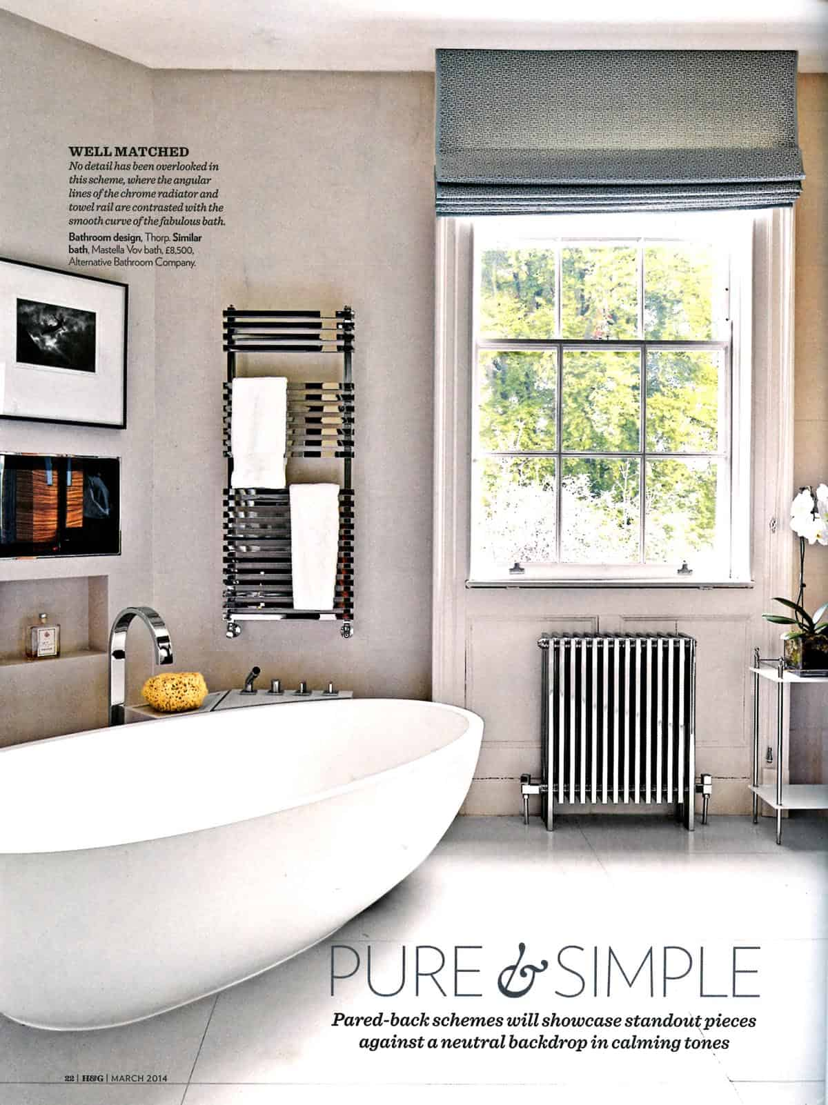 bathrooms 2014. Homes \u0026 Gardens Inspired Bathrooms Supplement March 2014 Alternative 1